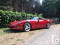 Make Chevrolet Model Corvette Year 2006 Colour red kms