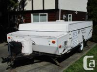 Family tent trailer in very good shape. Sleeps 6