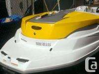 2006 Sea Doo Sportster watercraft. My partner and I are