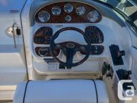 2006 Sea Ray 290 Sun Sport Powered by a twin MAG MPI