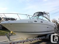 2006 Searay Amberjack 270  Excellent condition with 260