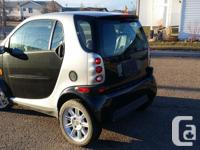 Make Smart Model Fortwo Year 2006 Colour Black kms for sale  Alberta