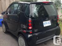 Make Smart Model Fortwo Year 2006 Colour Black Trans
