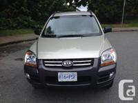 Wonderful health condition KIA SPORTAGE in Grey color.