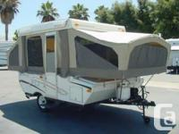 2006 Starcraft 1707 Pop up Tent Trailer. All the bells