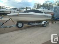 Open Bow, 4.3 Ltr Mercruiser Alpha one I/O , Bow cover,