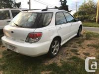Make Subaru Model Impreza Wagon Year 2006 Colour White