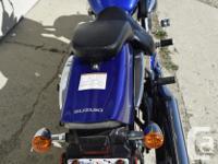 2006 Suzuki 800 BLV M50 VZ 800 13,935 km with crash