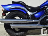 2006 Suzuki 800 BLV M50 VZ 800 13,935 km crash bars,