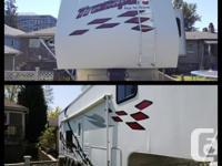 2006 Thor Tahoe fifth wheel toy hauler 34 Foot Sleeps