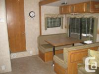 Great family sized 5th wheel. Separate bunk room with