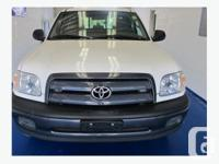 Excellent condition 2006 Toyota Tundra Reg Cab for