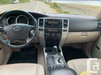 2006 Toyota 4Runner Limited -4.7L V8 -5-speed automatic
