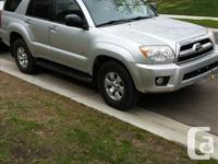 Make Toyota Model 4Runner Year 2006 Colour SILVER kms