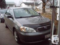 2006 Toyota Corolla-Loaded-4Door-Grey int/ext-PS/PB/PS/