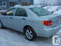 Make Toyota Model Corolla Year 2006 Colour Silver kms