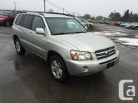 Make Toyota Version Highlander Hybrid Year 2006 Colour