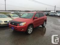 Make. Toyota. Version. RAV4. Year. 2006. Colour. RED.