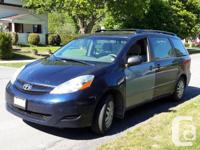 Make Toyota Model Sienna Year 2006 Colour Blue with