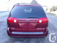 Make Toyota Model Sienna Year 2006 Colour Red kms
