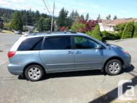 Make Toyota Model Sienna Year 2006 Colour Blue kms