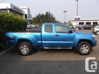 Make Toyota Model Tacoma Year 2006 Colour BLUE kms