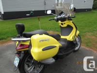 Even though this is a 2006, this scooter is in
