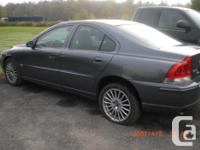 Make Volvo Model S60 Year 2006 Colour Grey kms 245000