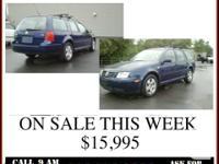 2006 VW JETTA TDI WAGON  . ON SALE THIS WEEK $15,995 .