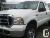 2006 Ford F-350 4x4 XLT Six Seater Dura Liner White