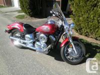 2006 Yamaha 1100 V Star Custom Powerful, reliable, and