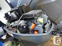 Like new 6HP Yamaha long shaft kicker for sale, with