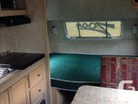 19 ft travel trailer. second owner, everything in good