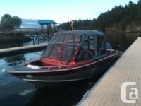2007 21ft Northriver Seahawk Aluminum fishing boat.