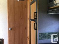 Price negotiable, queen bed, table converts to make