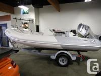 15.5' Zodiac Yachtline 470 Deluxe RIB (Rigid Inflatable