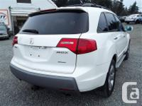 Make Acura Model MDX Year 2007 Colour white kms 228171