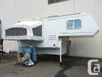 2007 Adventurer 10T long box vehicle camper. Fiberglass