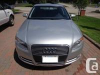 I am selling my 2007 Audi A4 Quattro! This is the 2.0L