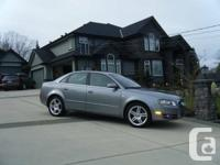 2007 Audi A4 Quattro 2.0L turbo. Charcoal in color with
