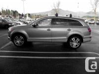 Make Audi Model Q7 Year 2007 Colour Green kms 137100