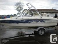 VERY CLEAN 2007 Bayliner is an 18.5 ft bow rider -