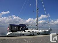 Modern timeless sailboat by Groupe Finot in superb