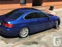 Make BMW Model 328i Year 2007 Colour Blue kms 144000