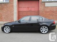 Make BMW Model 335i Year 2007 Colour Black kms 115000