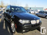 Make BMW Model X3 Year 2007 Colour Black kms 97000
