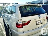 Make BMW Model X3 Colour WHITE Trans Automatic kms