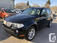 Make BMW Model X3 Year 2007 Colour Black kms 146000