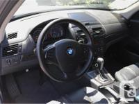 Make BMW Model X3 Year 2007 Colour Blue kms 148200