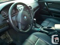Make BMW Model X3 Year 2007 Colour blue kms 185834